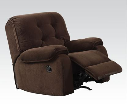 Picture of Nailah Motion Chair in Chocolate Fabric