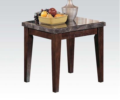 Picture of Danville End Table W/ Black Marble Top