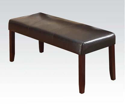 Picture of Modern Idris Espresso Dining Bench