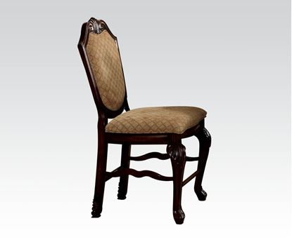 Picture of Chateau De Ville Espresso 2 Pcs. Counter Height Chair    (Set of 2)