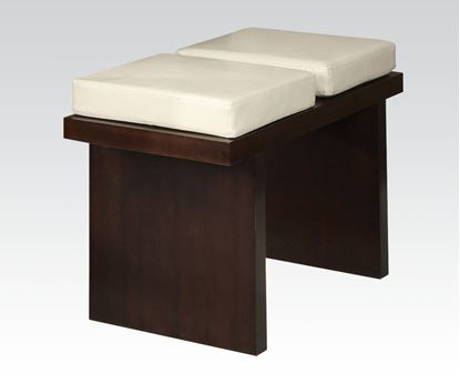 Picture of Keelin Counter Height Bench in Espresso
