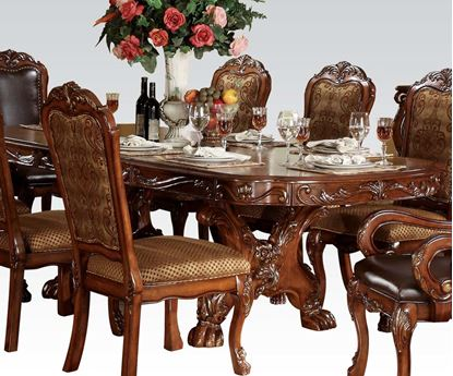 Picture of Dresden Cherry Oak Finish Dining Table by  T