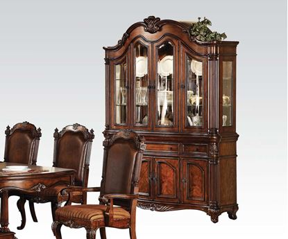 Picture of Remington Brown Cherry Finish Classic Hutch & Buffet
