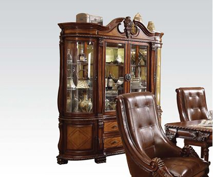 Picture of Winfred Cherry Finish Hutch & Buffet
