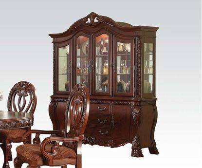 Picture of Traditional Quinlan Cherry Hutch & buffet