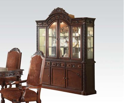 Picture of Quimby Cherry Finish Hutch & buffet by